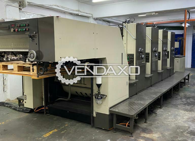 Mitsubishi 3F-4 Offset Printing Machine - 28 x 40 Inch, 4 Color