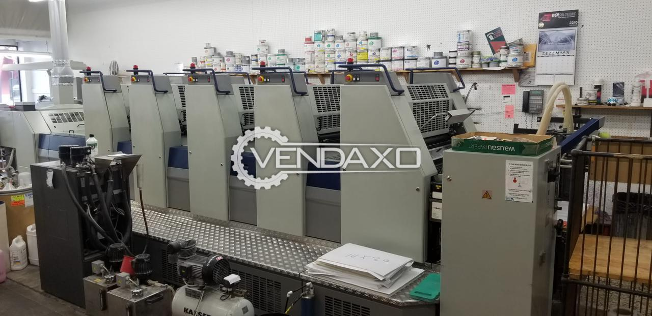 Adast Dominant 757P Offset Printing Machine - 19 X 26 Inch, 5 Color
