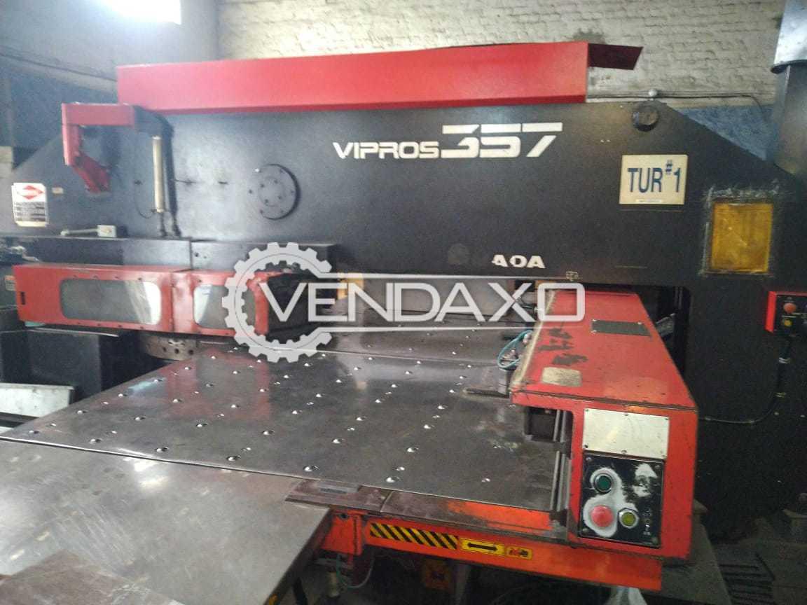 Amada Vipros 357 CNC Turret Punching Machine - 30 Ton