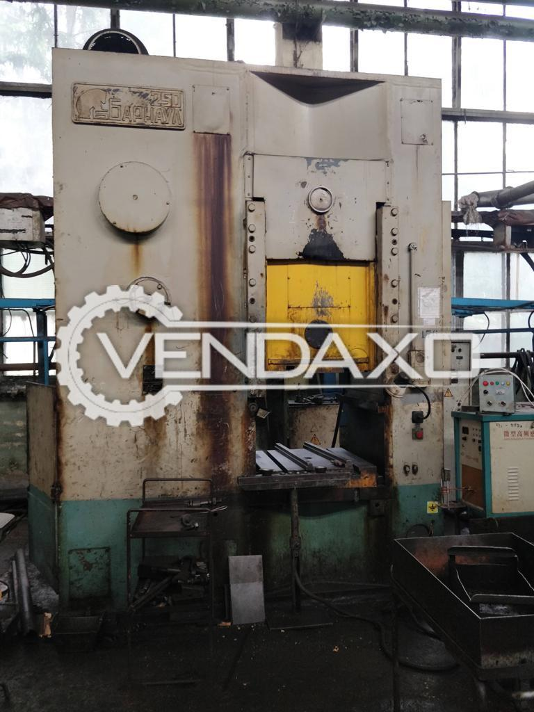 Barnaul 250 Knuckle Joint Cold Extrusion Press - 250 Ton