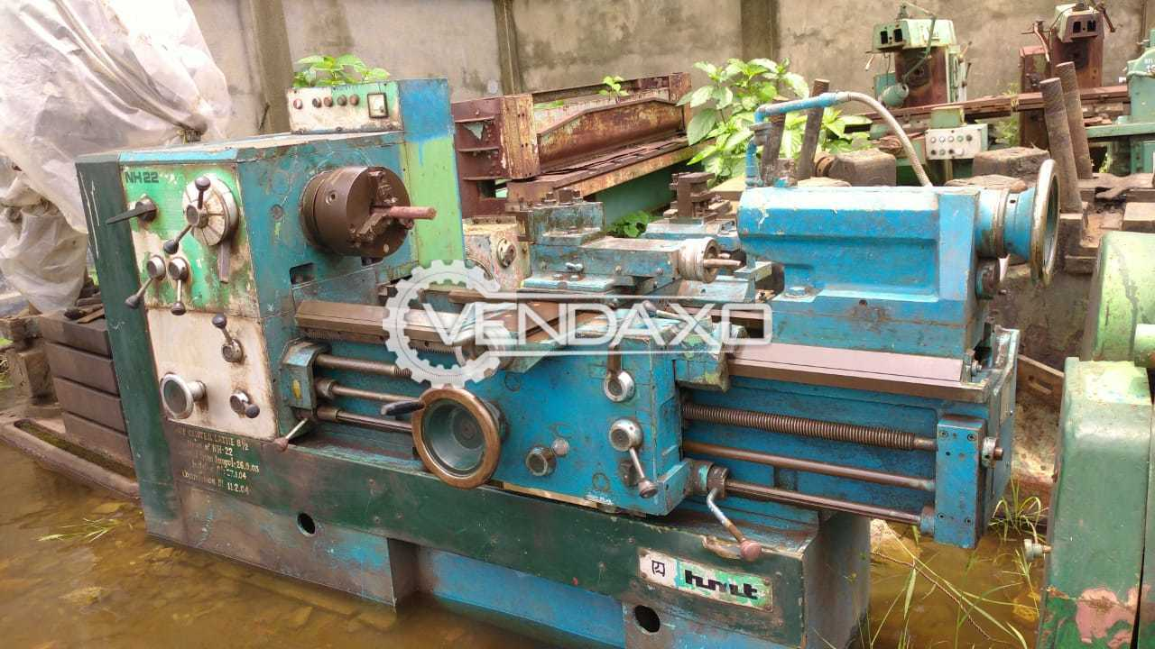 HMT NH22 All Geared Lathe Machine - 1000 x 220 mm