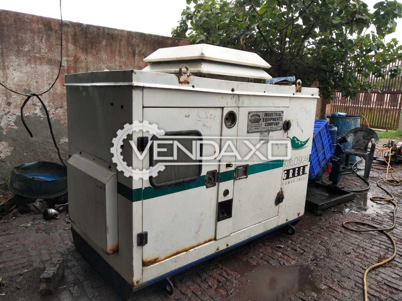 Kirloskar HA294 Diesel Generator - 15 Kva, 2006 Model