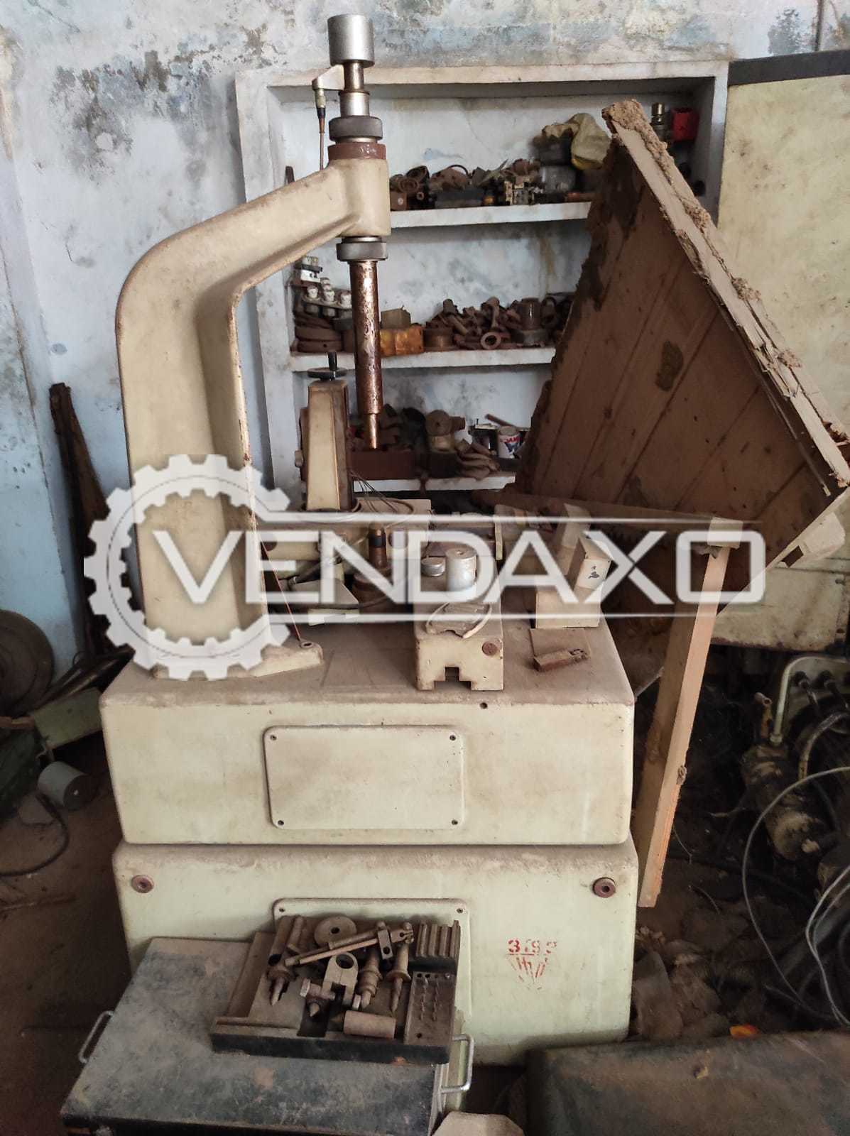 For Sale Used Mahr Lead, Profile & Gear Tester Machine