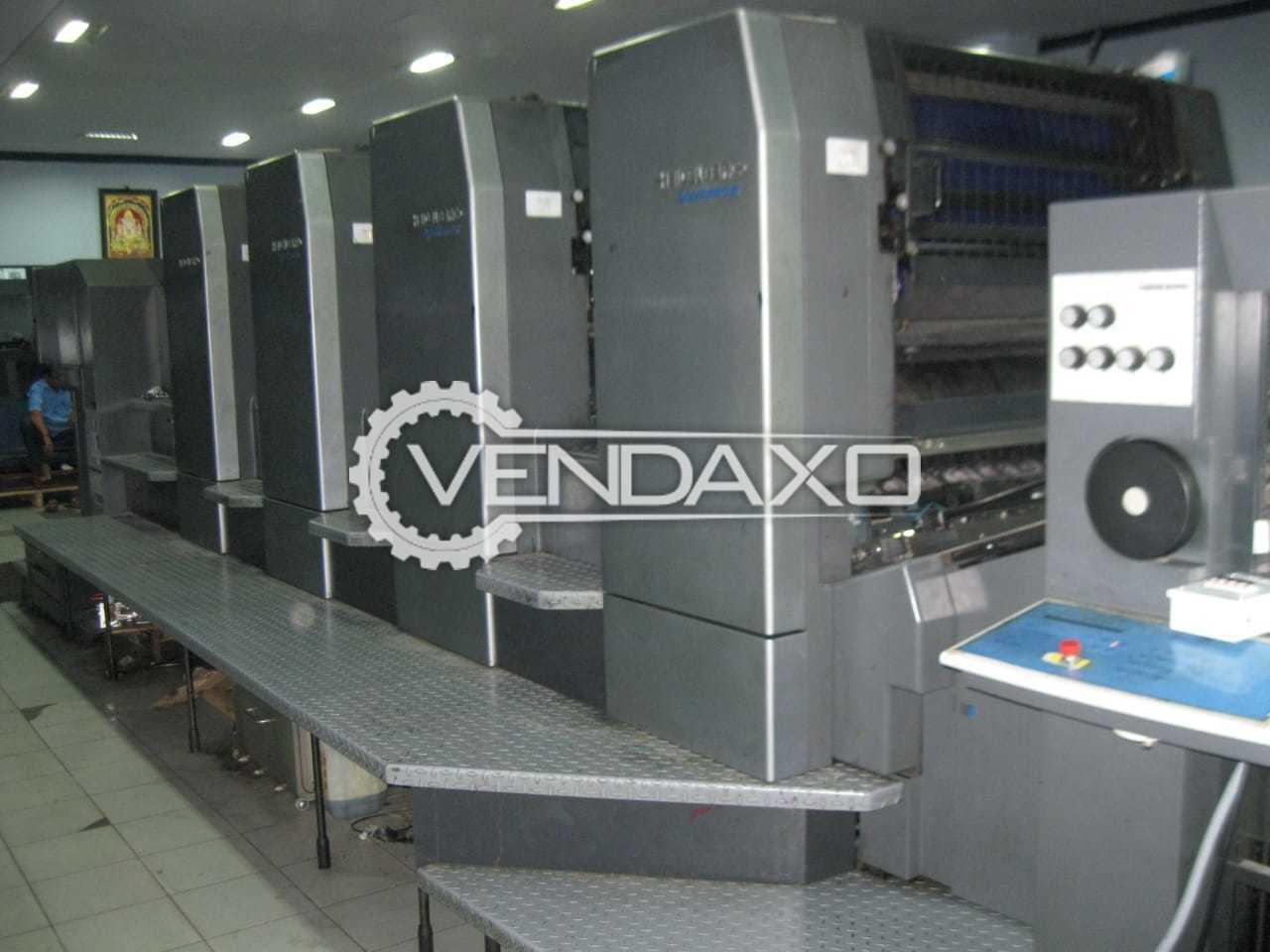 Heidelberg SM 102-4P Offset Printing Machine - 28 x 40 Inch, 4 Color