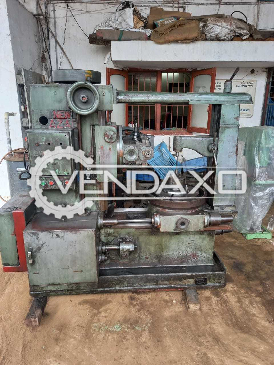 AZAD Gear Hobbing Machine - 6 Module