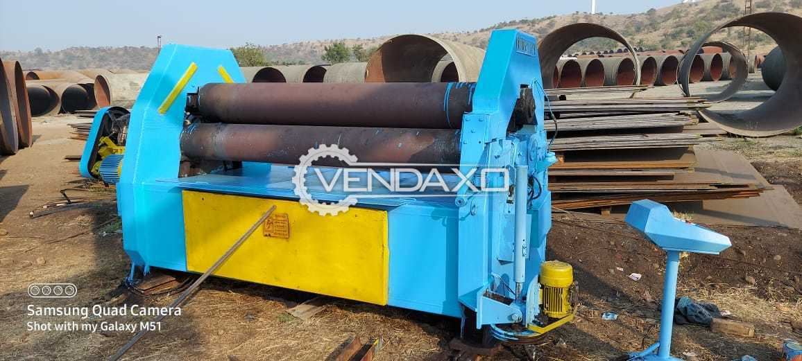 For Sale Used Plate Rolling Machine - 2500 x 25 mm