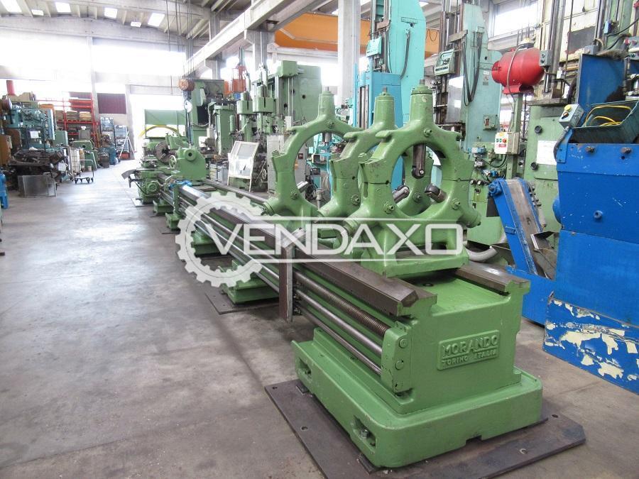 Morando PN 42 x 9000 Heavy Duty Lathe Machine - Turning Diameter - 650 mm