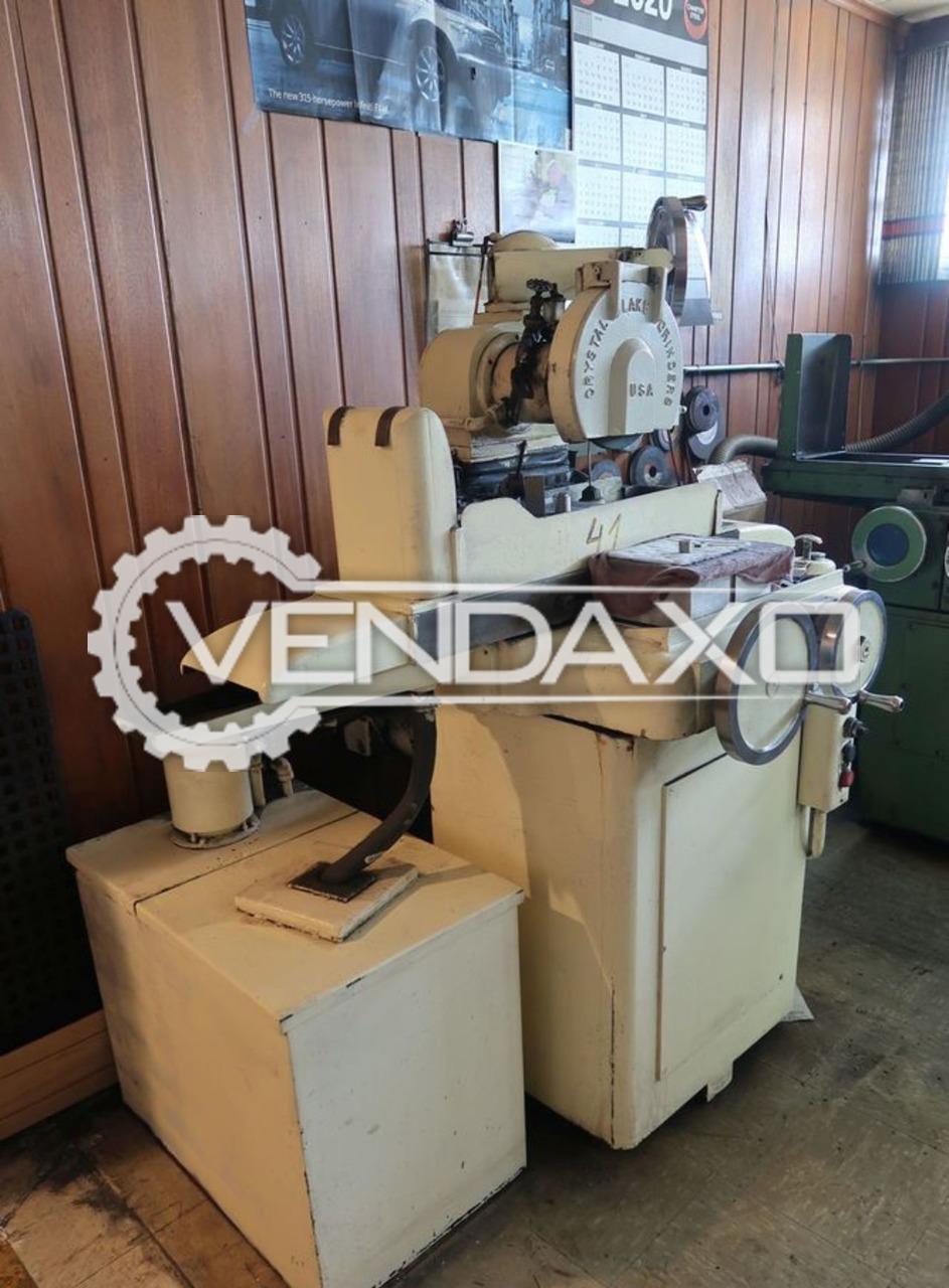 Crystal Lake Surface Grinder Machine - 5 X 10 Inch