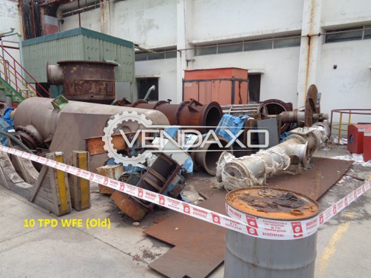 For Sale Hydraulic Power Unit For Wiped Film Evaporator WFE - 10 TPD Including WFE Piping