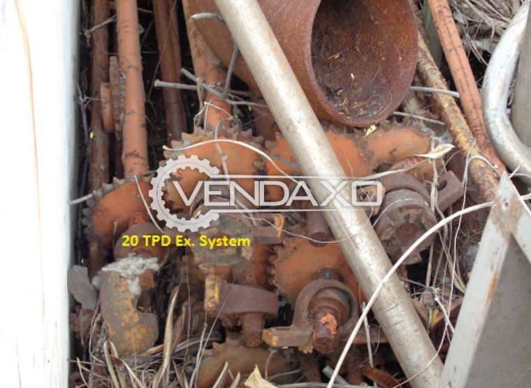 For Sale Used Cutter Assembly & Exhaust System - 20 TPD Sparepart of Spinning Machine