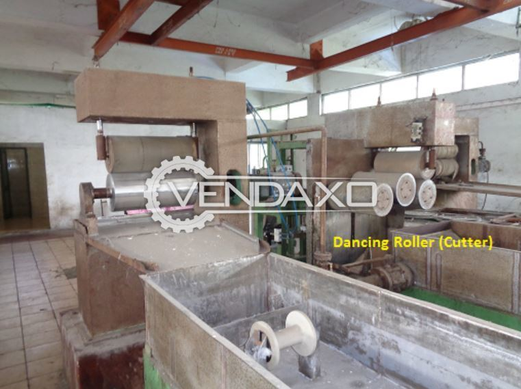 For Sale Used Dancing Type Roller Cutter Machine