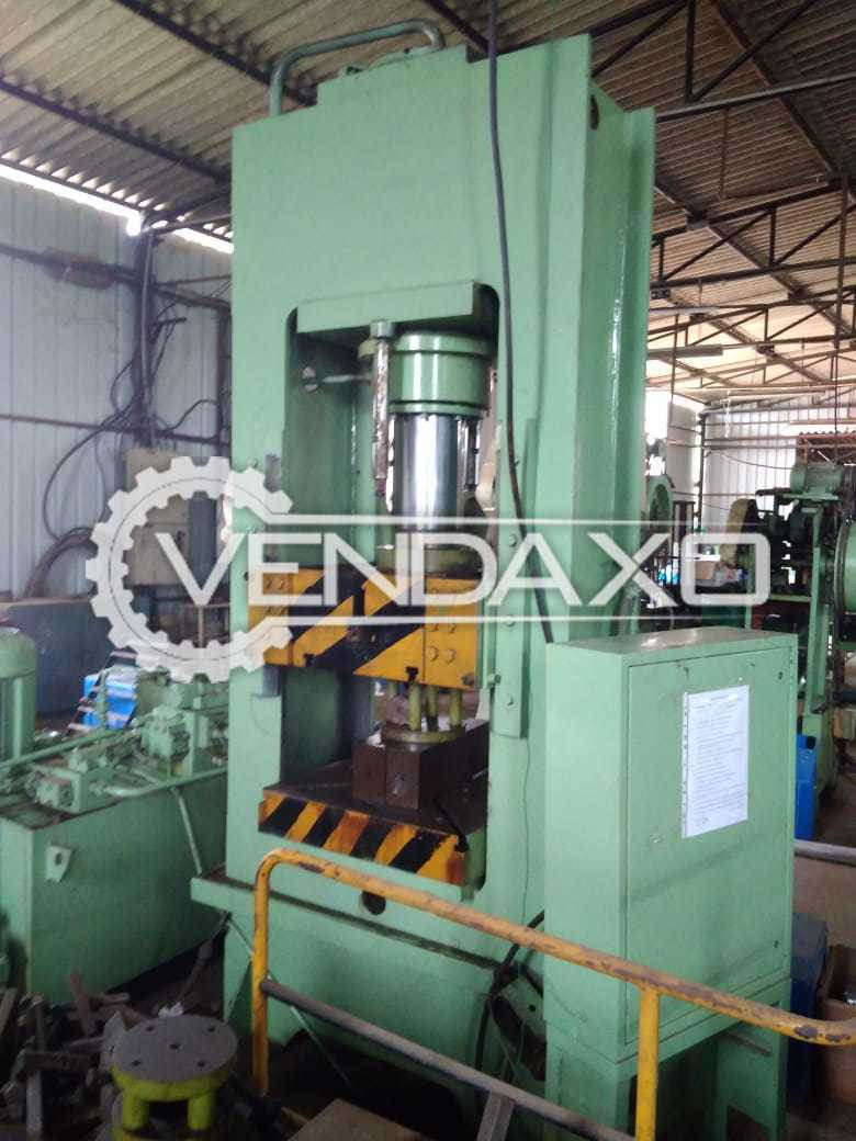 For Sale Used Hydraulic Power Press - 100 Ton