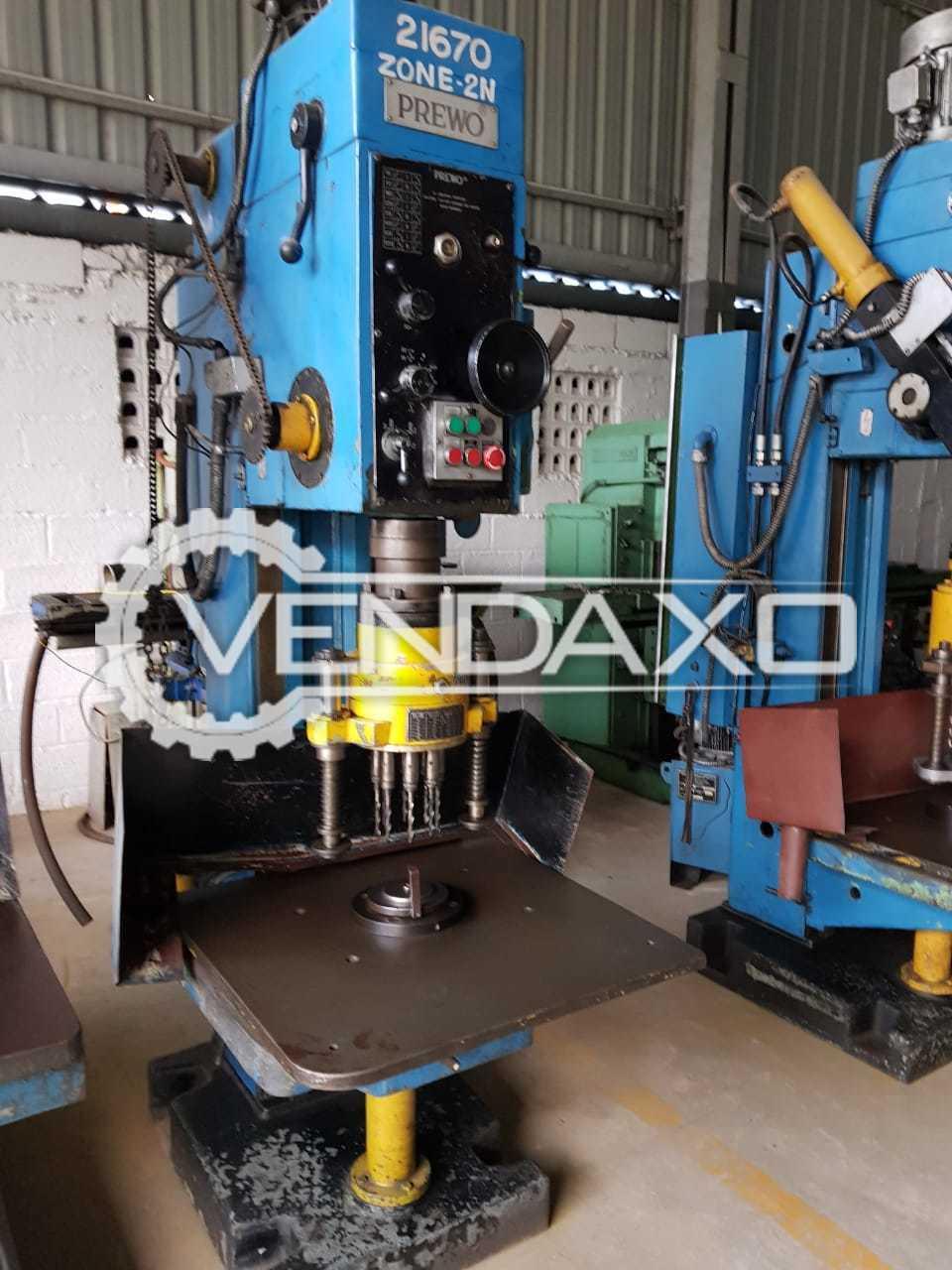 For Sale 10 Set OF WMW, EIFCO, Prewo Column Drilling Machine - 32 mm