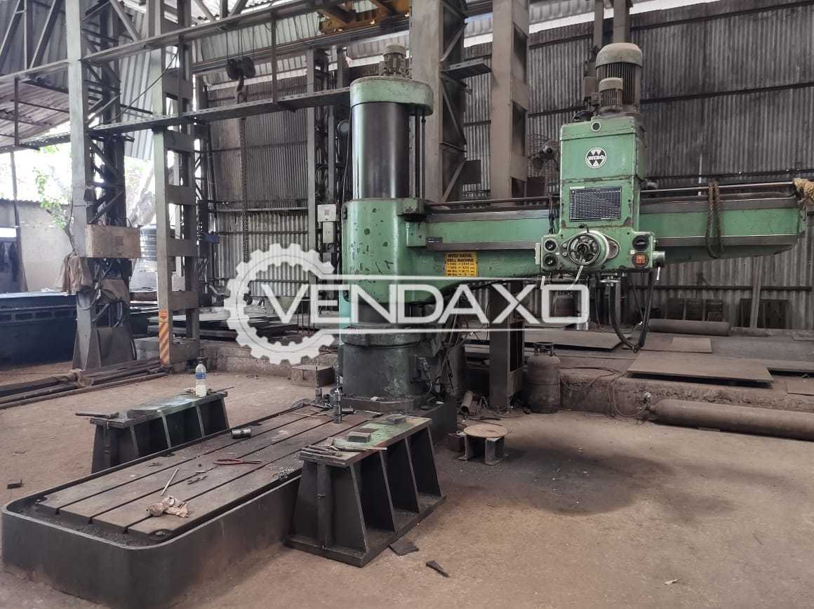 For Sale Used Drilling Machine - 2400 x 70 mm