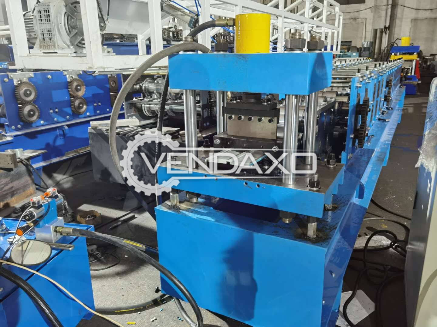 For Sale Used Floor Roll Forming Machine - Forming Speed - 10-15 m/min