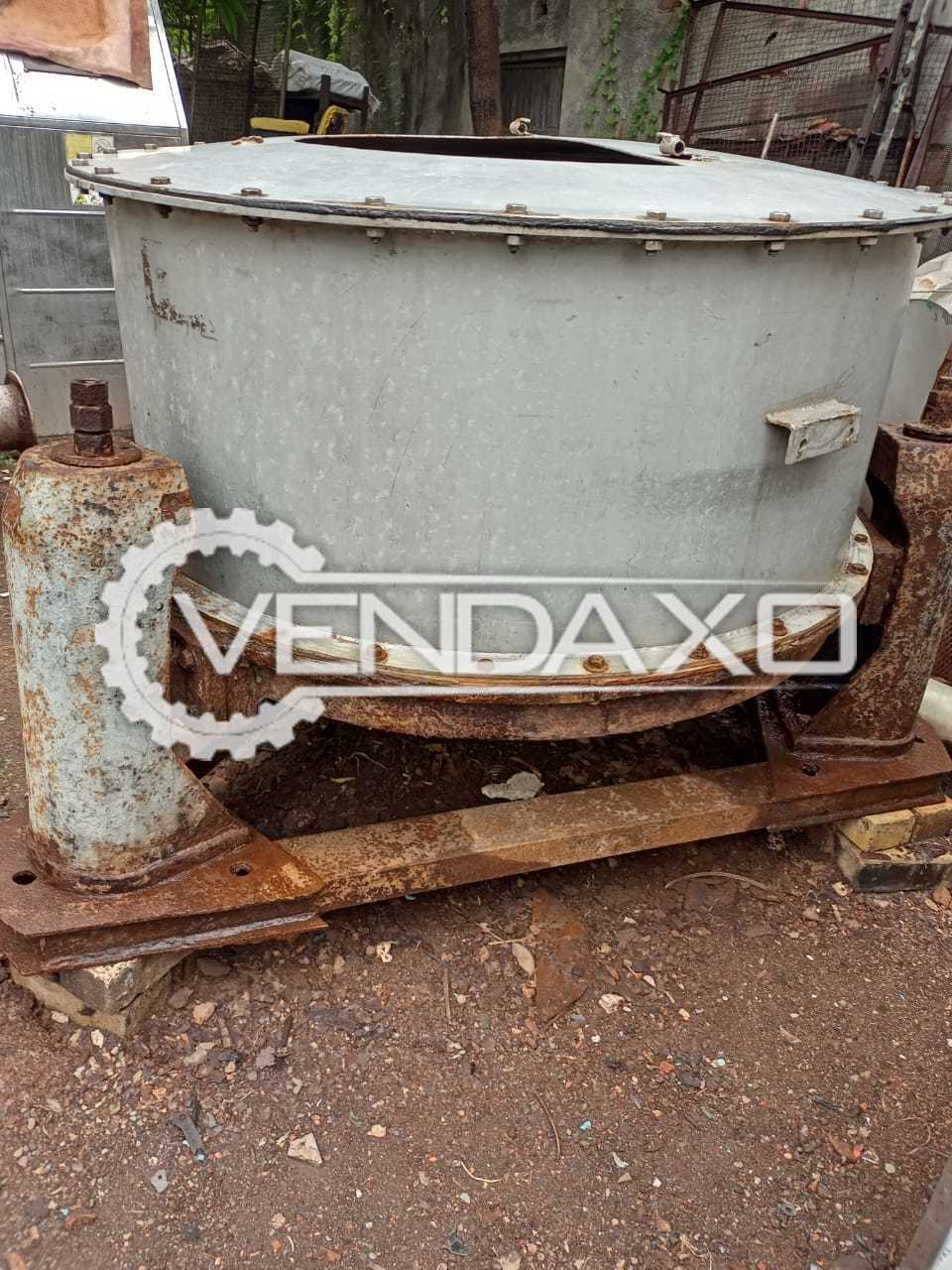 For Sale Used 3 Set OF SS 316 Centrifuge - 48 Inch