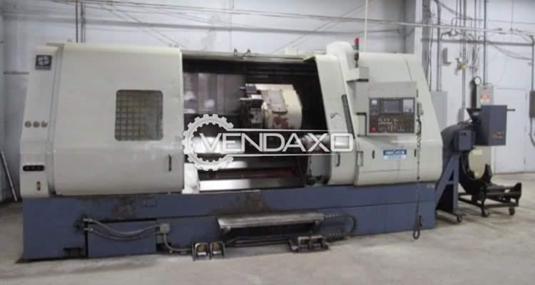 Hwacheon Hi-ECO 45 CNC Lathe Machine - Max. Turning Length - 2000 mm