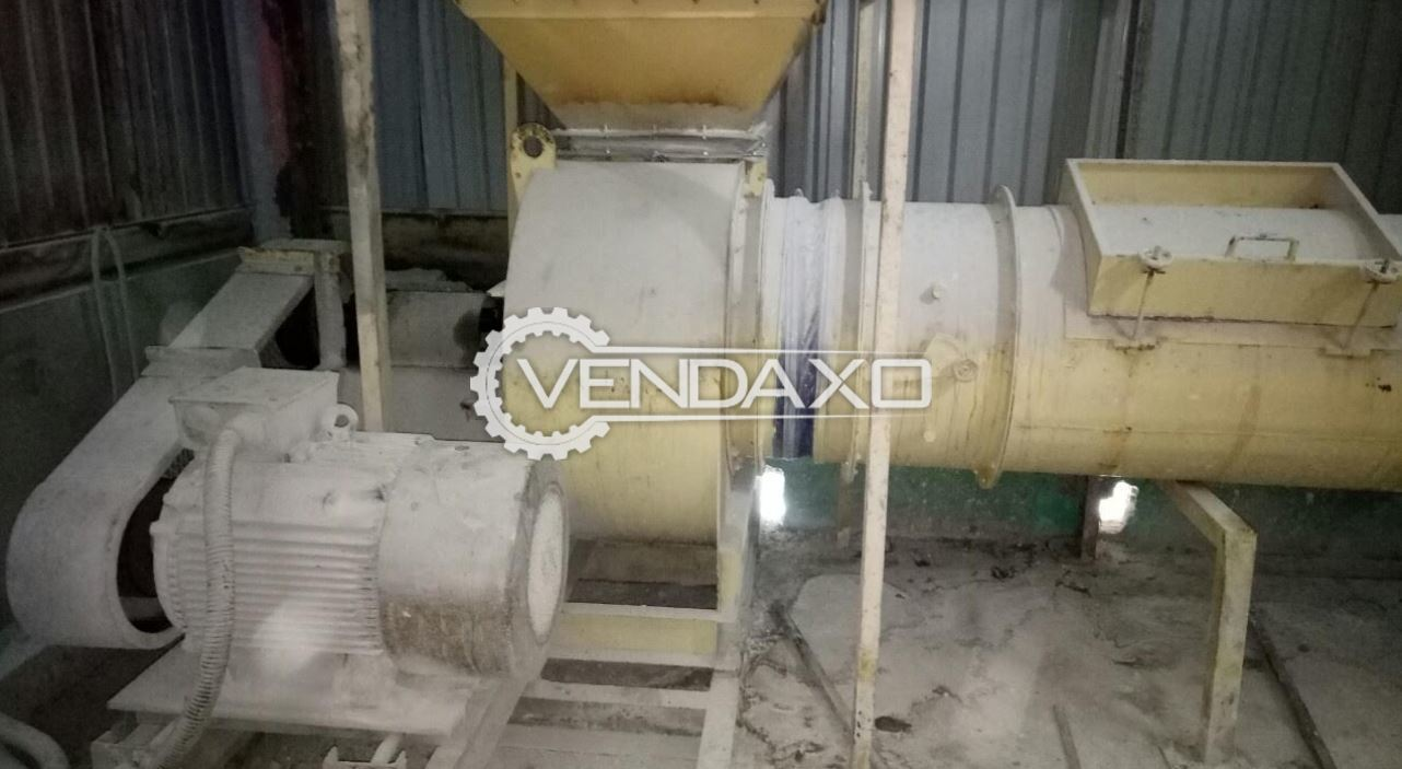 For Sale Used Airlift Fan & Piping, Separator and Electrical Cabinet - 2013 Model