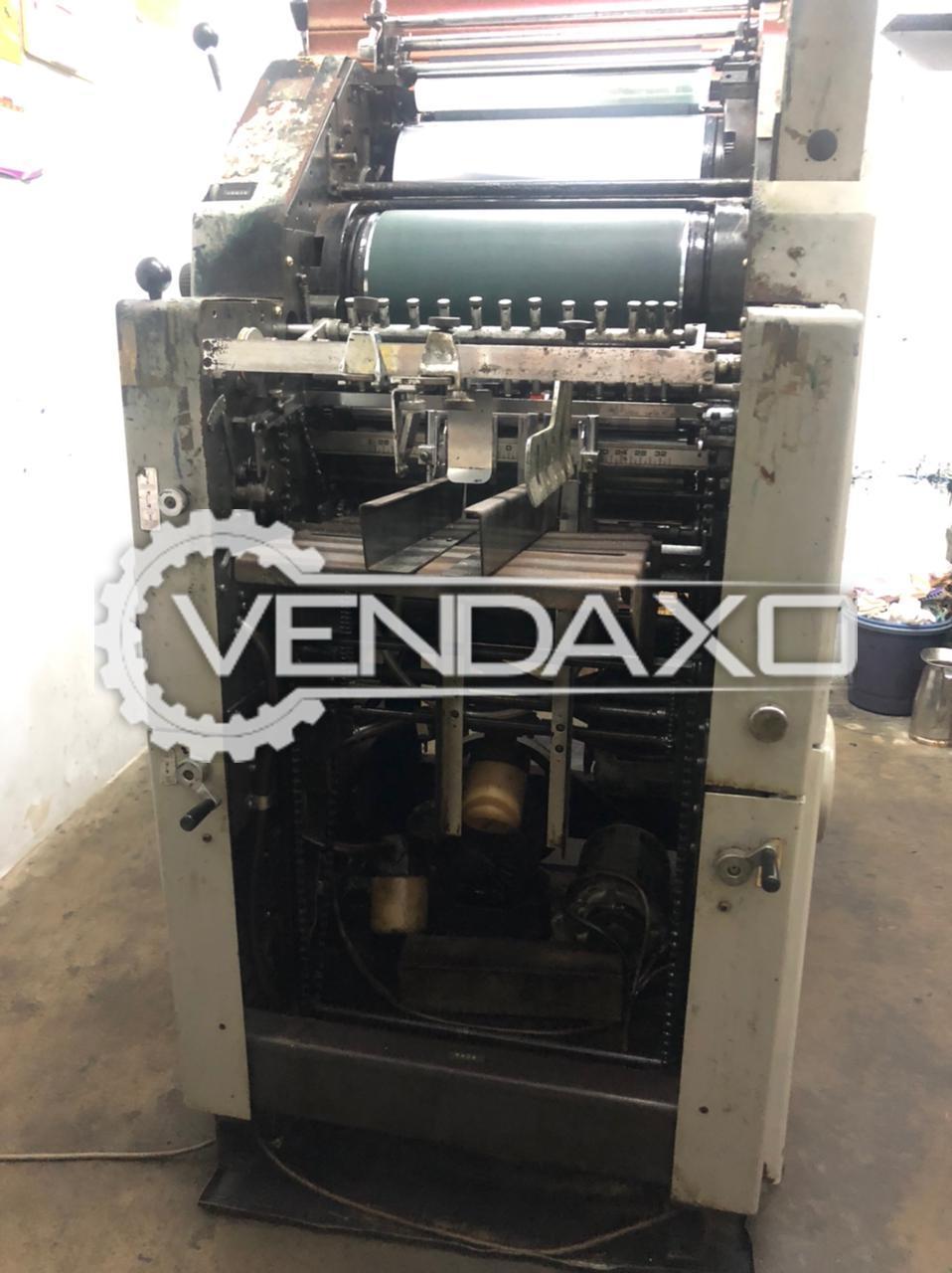 Ryobi 3200 CD Baby Offset Printing Machine - 13 X 18 Inch, Single Color