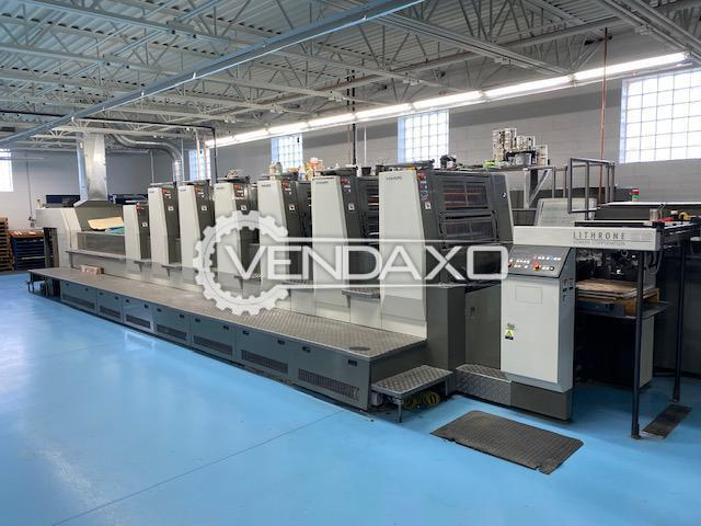 Komori LSX 629CX Offset Printing Machine - 23 x 29 Inch, 6 Color