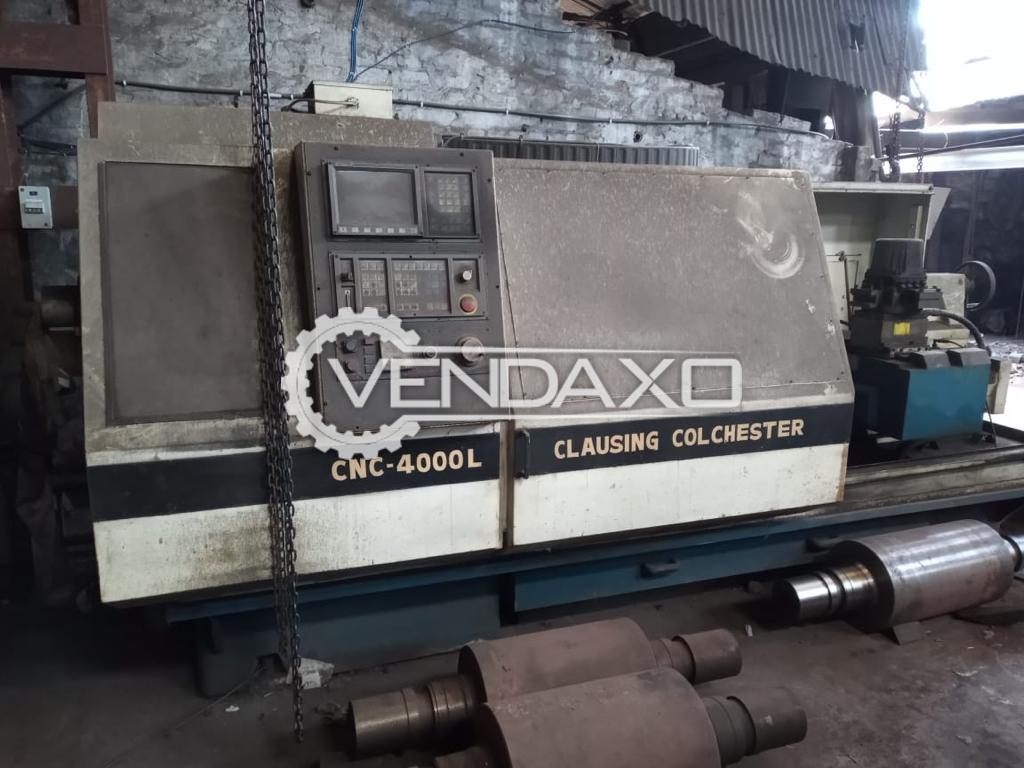 Clausing Colchester CNC-4000L CNC Lathe Machine - 2000 mm