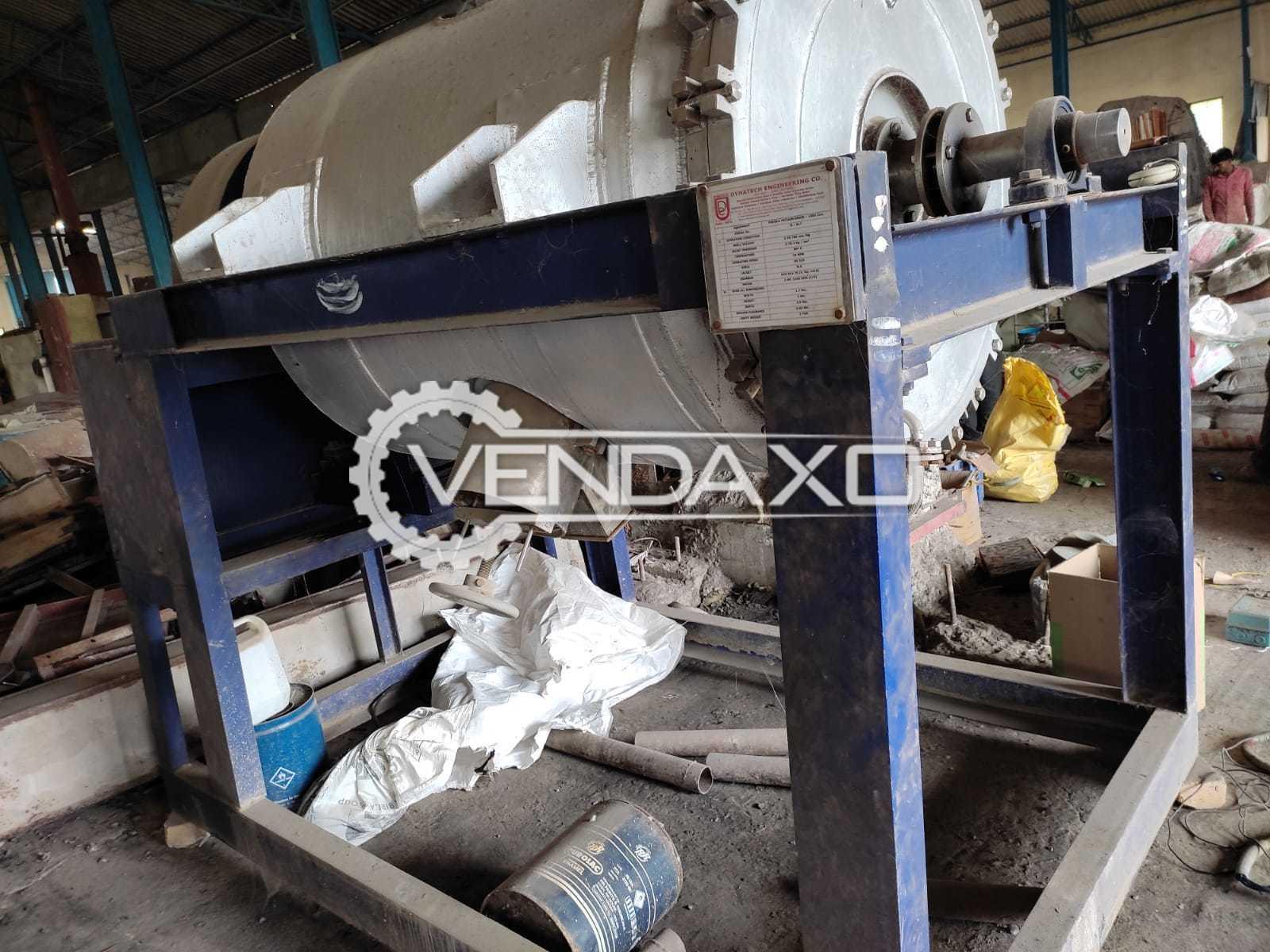 Dynatech Engineering Paddle Vacuum Dryer - 1000 Liter