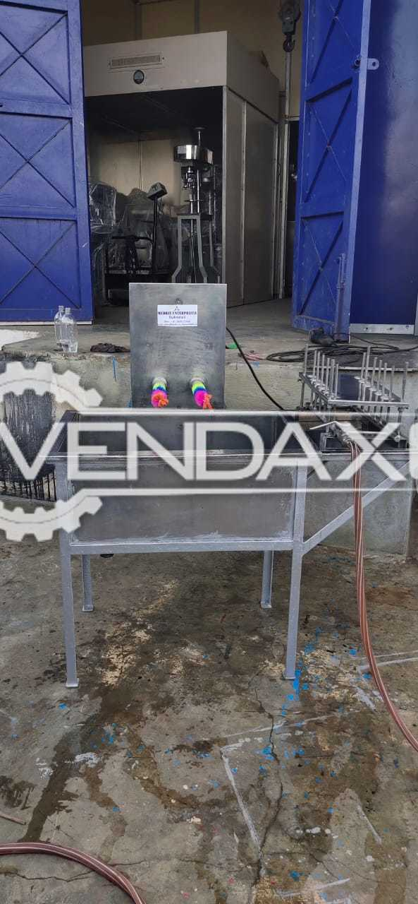 For Sale Used Manual Bottle Washing Machine - 2 Head