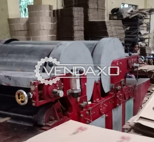 Senior Flexo Printing Machine - 52 x 72 Inch, 2 Color