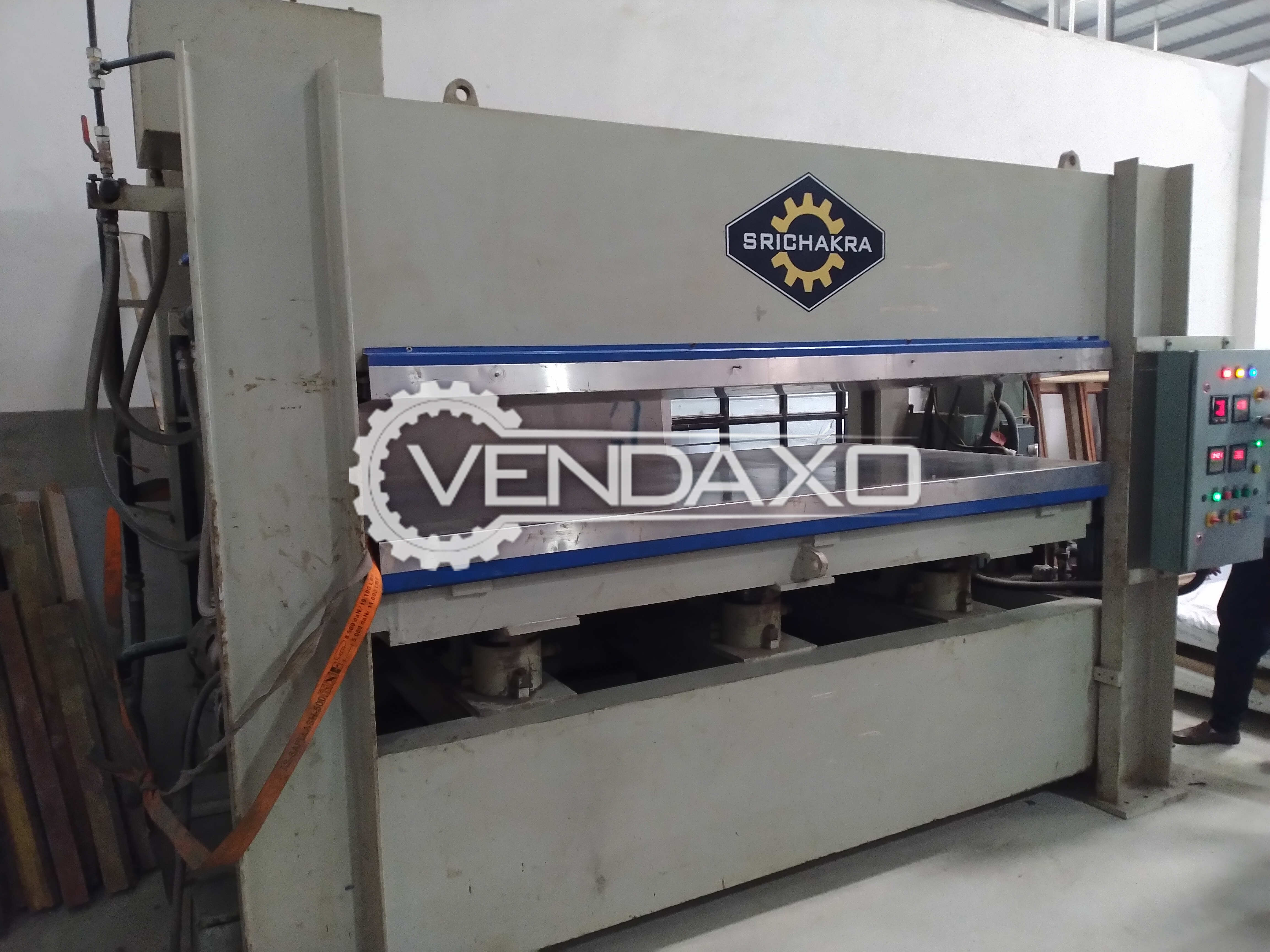 Sri Chakra Hot press Plywood laminate Bonding press