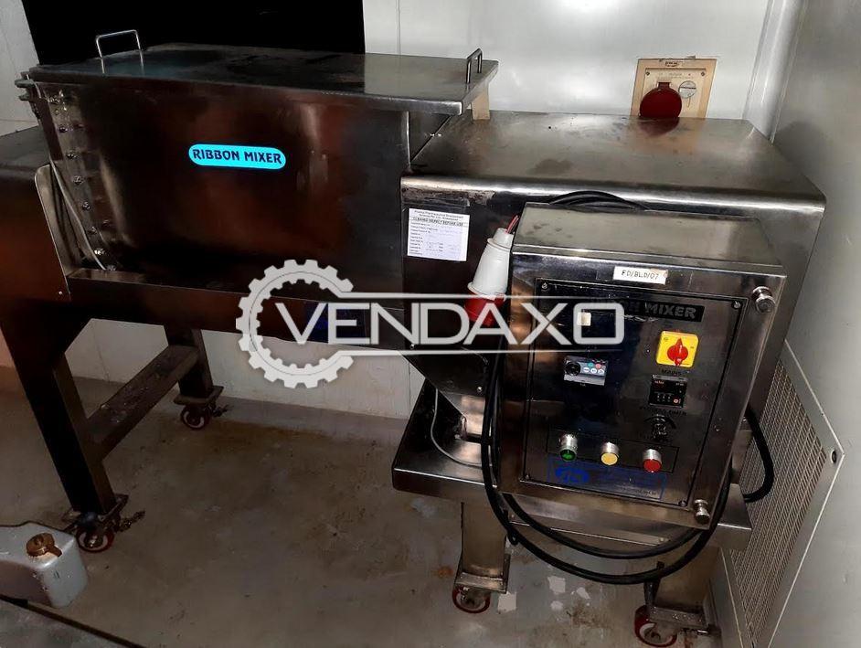 STM RM 120L GMP Ribbon Mixer - 120 Liter