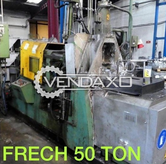 For Sale Used Frech Hot Chamber Die Casting Machine - 50 Ton