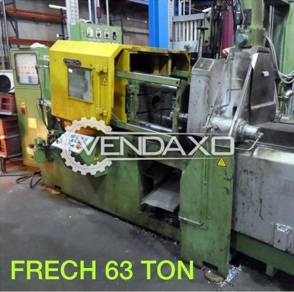 For Sale Used Frech Hot Chamber Die Casting Machine - 63 Ton