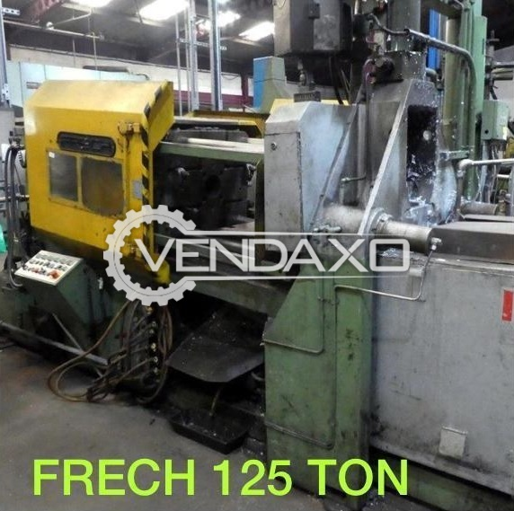 For Sale Used Frech Hot Chamber Die Casting Machine - 125 Ton