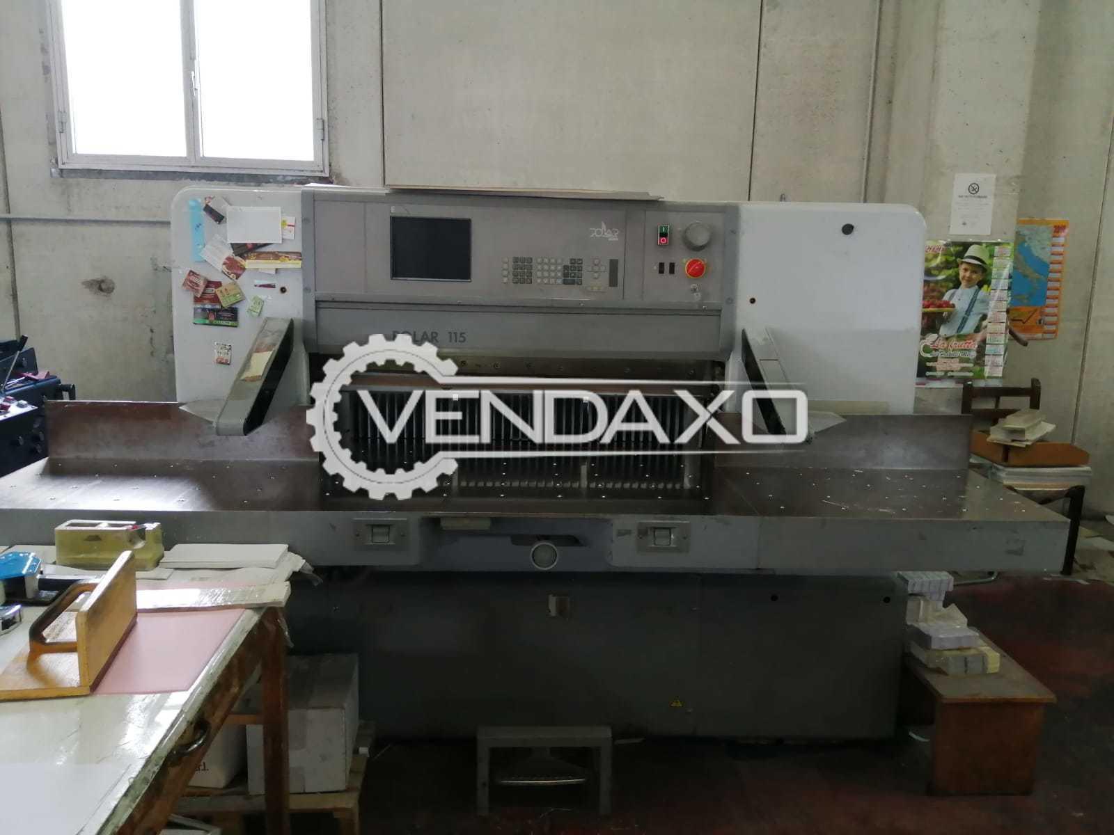 Polar Mohr 115E Paper Cutting Machine - 45 Inch, 1996 Model