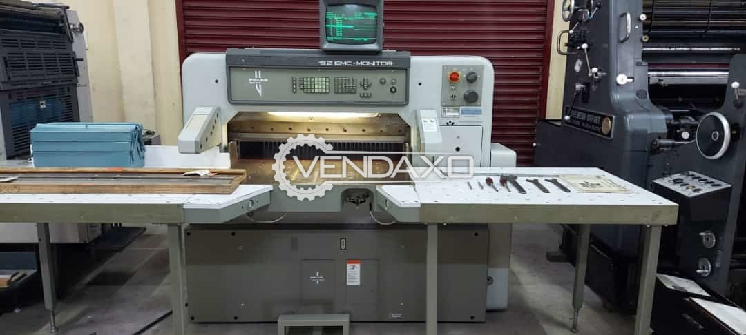 Polar Mohr 92 EMC Monitor Paper Cutting Machine - 36 Inch