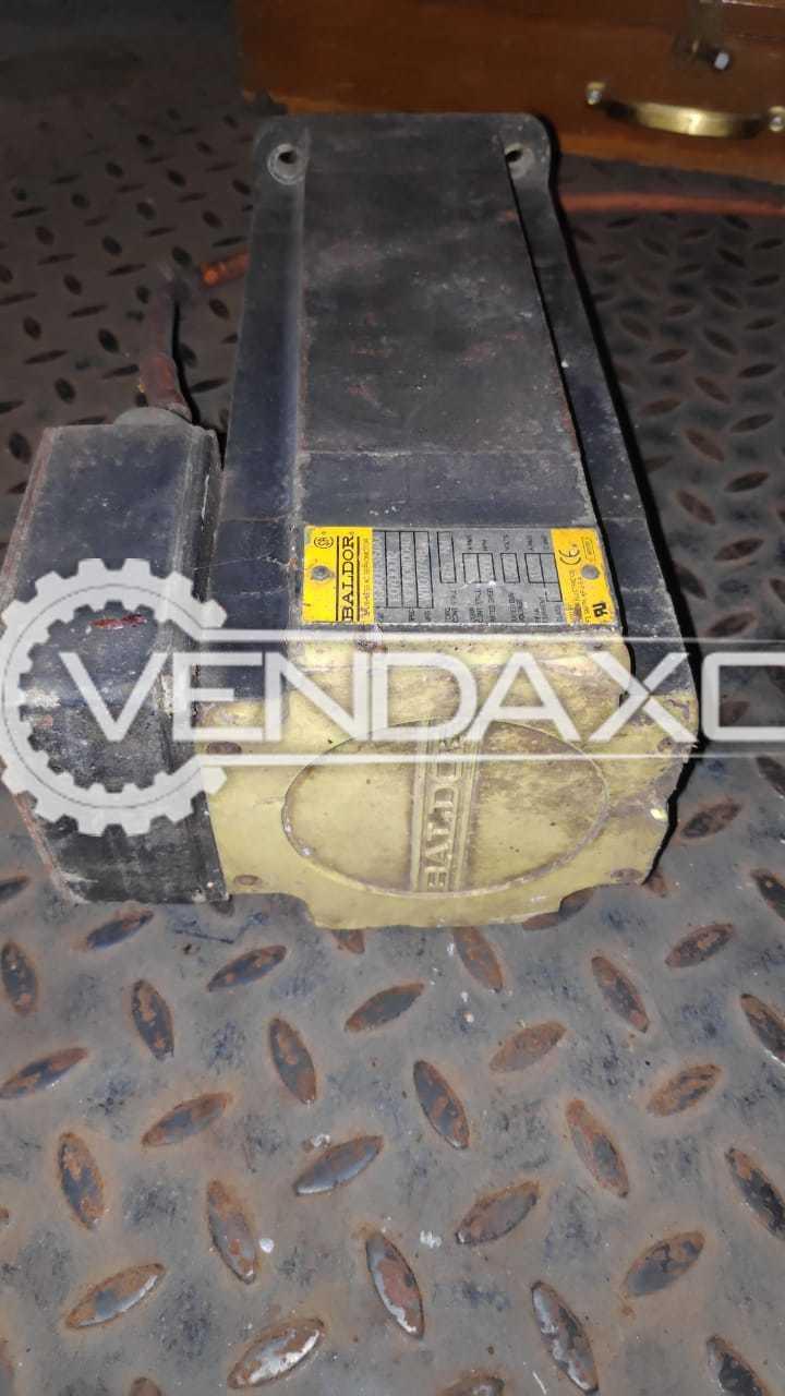 3 Set OF Baldor Brushless AC Servo Motor - 6.5 NM