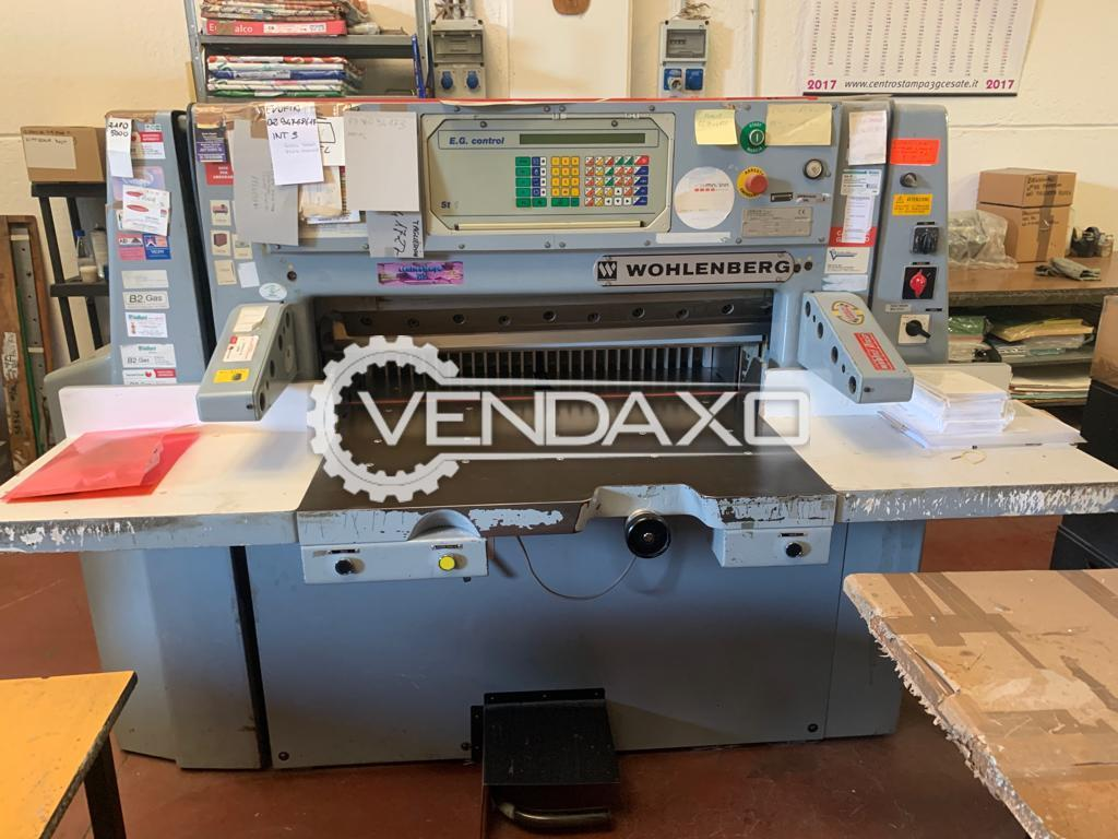 Wohlenberg 90 Paper Cutting Machine - 90 CM, 1988 Model