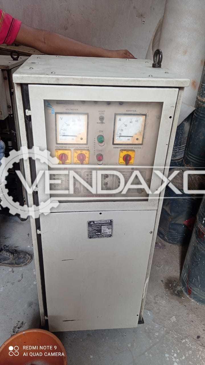 Servomax Servo Voltage Stabilizers - 20 Kva, 2002 Model