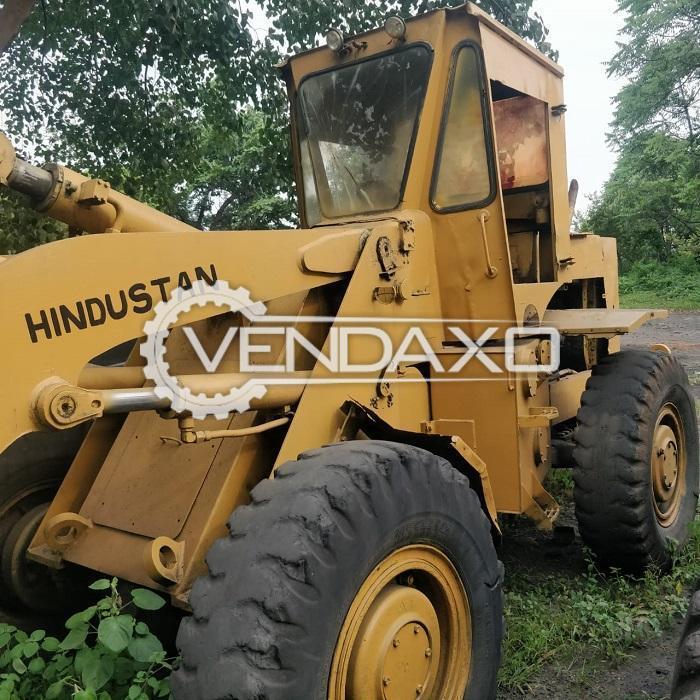 For Sale Used Hindustan HM-2021 Wheel Loader Machine - 112 HP, 2006 Model