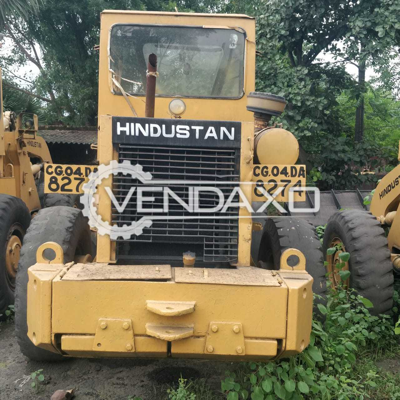 For Sale Used Hindustan HM-2021 Wheel Loader Machine - 112 HP, 2007 Model