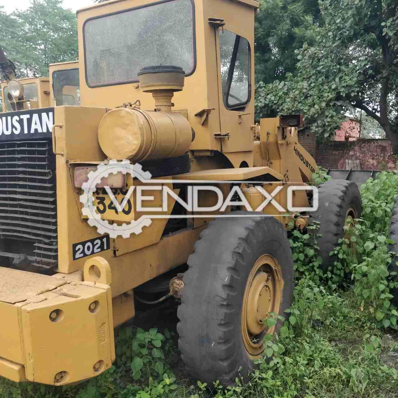 For Sale Used Hindustan HM-2021 Wheel Loader Machine - 112 HP, 2009 Model