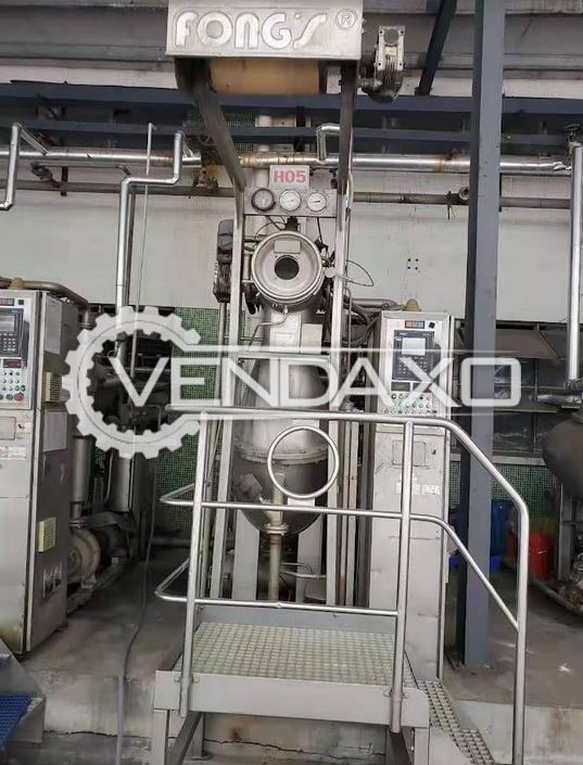 14 Set of Fongs HT Sample Dyeing Machine - 5 to 120 KG, 2003 to 2012 Model