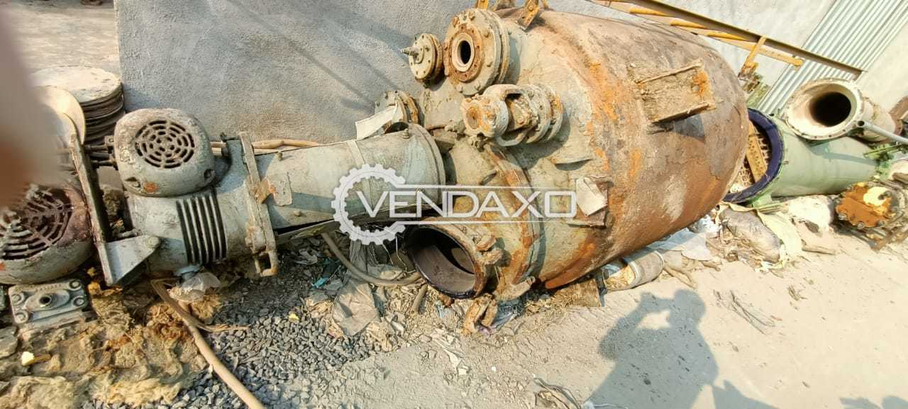 For Sale Used Glassline Reactor - 3 KL