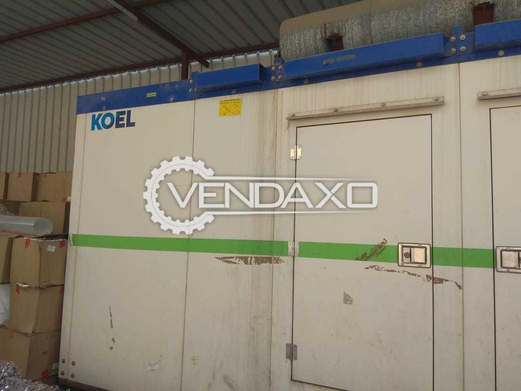 Koel Kirloskar Diesel Generator - 320 Kva, 2015 Model