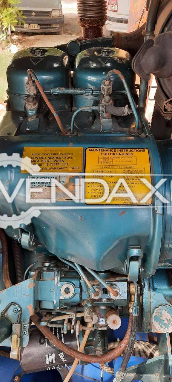 For Sale Used Kirloskar Diesel Generator Engine - 15 Kva