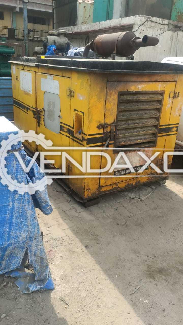 For Sale Indian Make Silent Diesel Generator - 40 Kva, 2003 Model