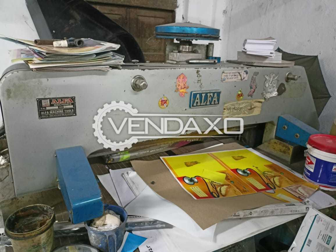 ALFA Semi Automatic Paper Cutting Machine - 42 Inch, 2019 Model
