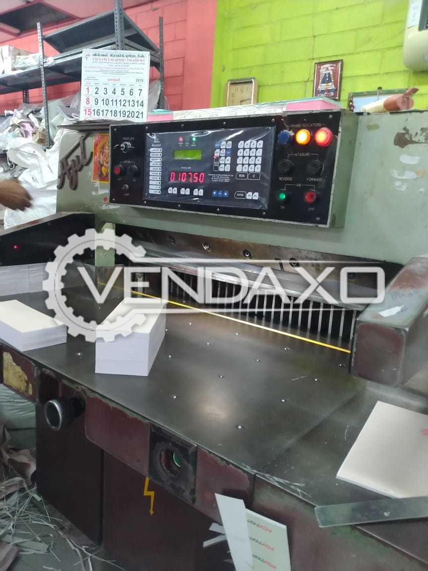 Ajit Paper Cutting Machine - 36 Inch, 2016 Model