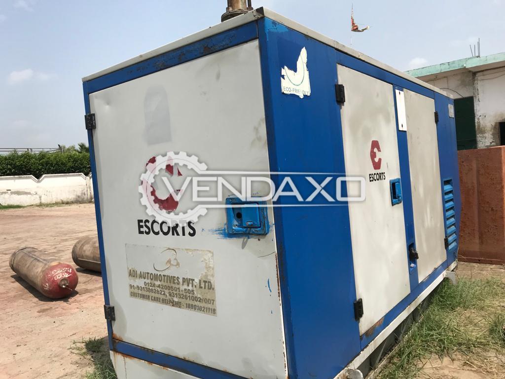 Escorts G30 Diesel Generator - 30 Kva, 2012 Model