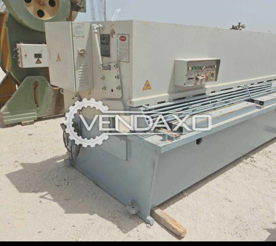 ACL Lifeng QC-12Y Hydraulic Swing Beam Shearing Machine - 3200 x 6 mm, 2007 Model